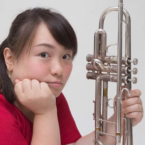 守岡未央(トランペット) Mio Morioka,Trumpet